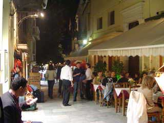 eating out in Plaka
