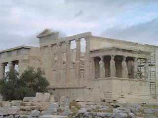 Erechtheum of the Acropolis