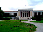 the Archaeological museum of Athens