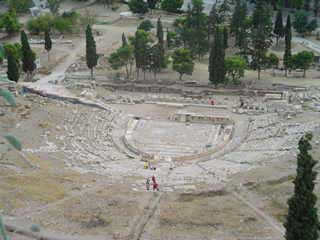 The Dionysus theater