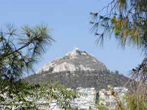 Lycabetus hill athens