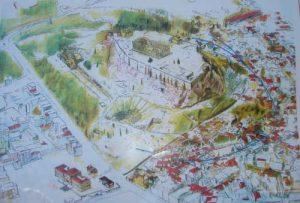 historical center of athen